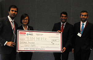 First place in the NCState Grand Business Challenge went to Boston University Questrom School of Business