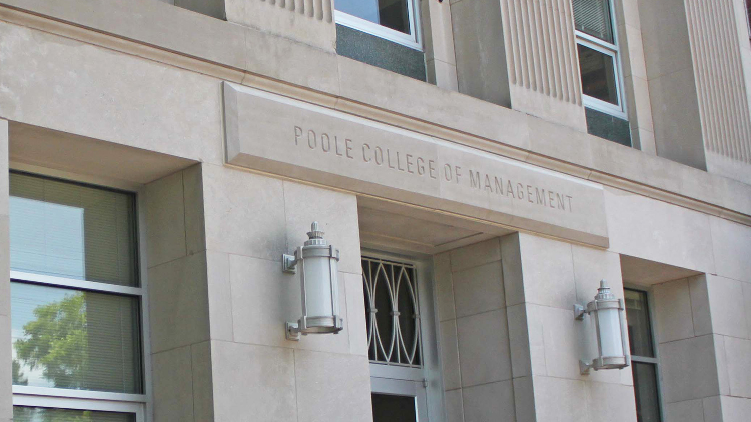 Nelson Hall, home to the NC State Poole College of Management