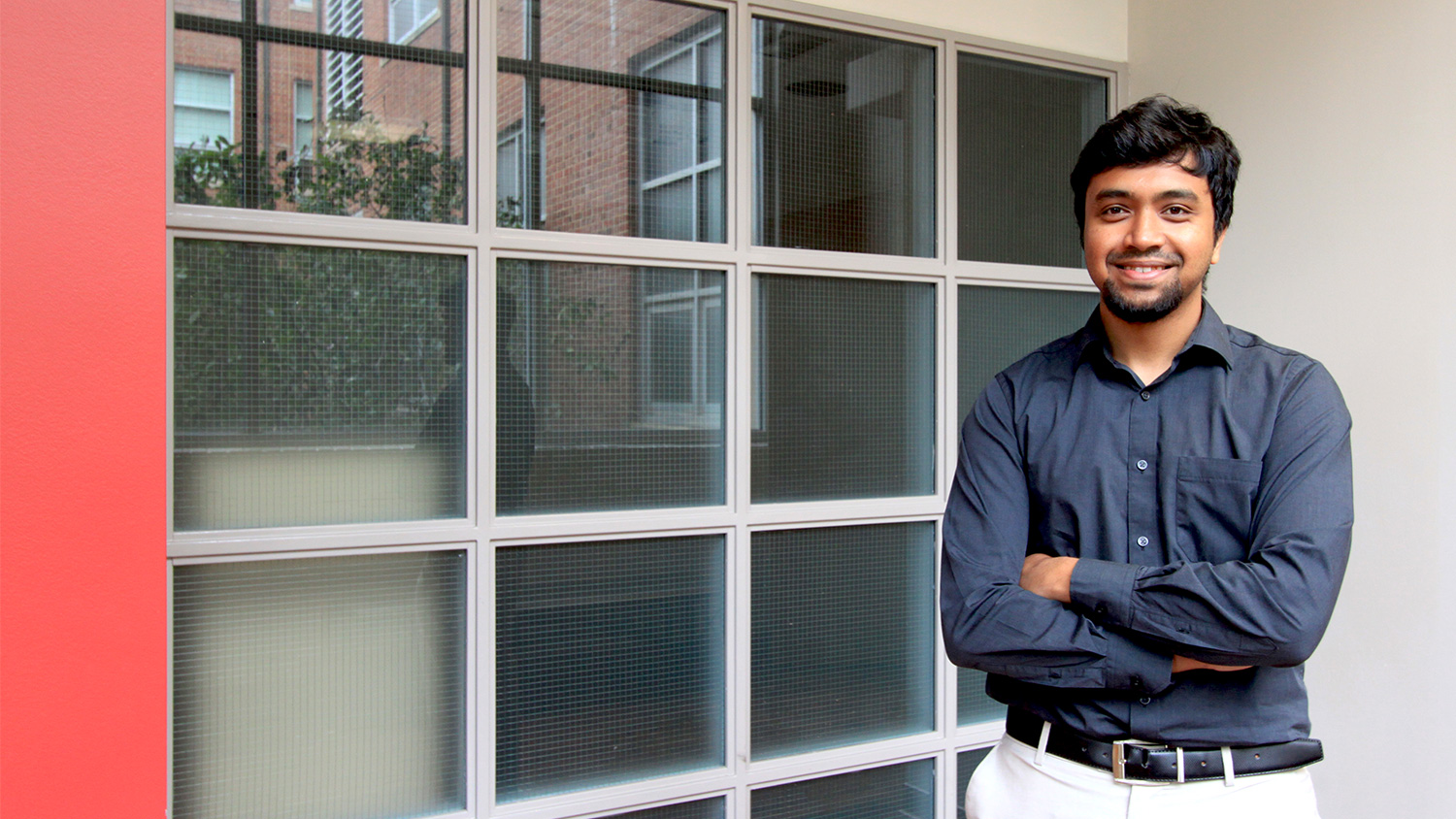 Rakesh Ravi, data scientist in the Center for Innovation Management Studies at the NC State Poole College of Management