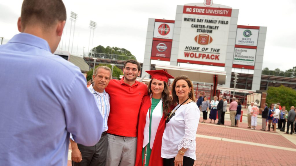 Family Photo Time After Commencement.